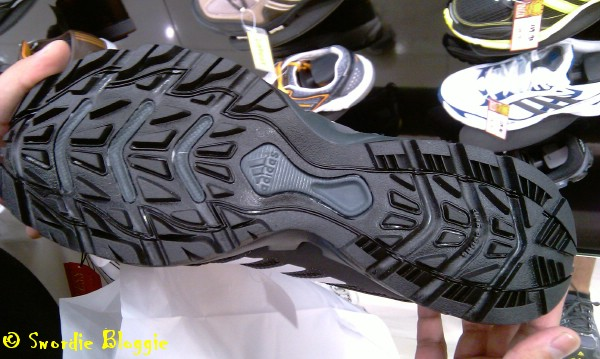 Adidas Hydroterra Shandal sole view