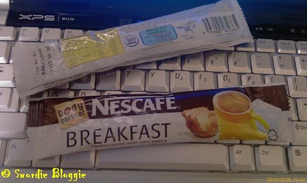 nescafe breakfast body partner